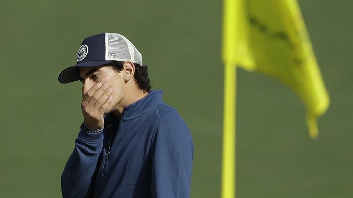 Niemann se despide con dos birdies en los últimos hoyos, pero no le alcanzan para pasar el corte en el Masters de Augusta