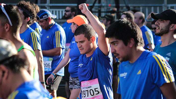 Yo corrí en el Maratón de Santiago: Periodista de Emol fue parte de la prueba...este es su relato y el resultado