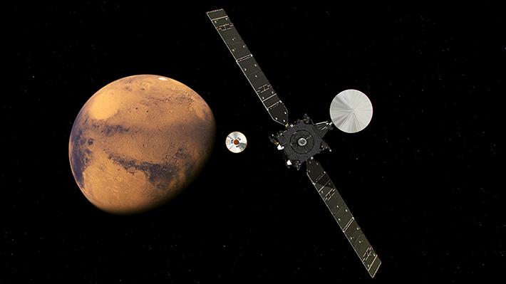 """ExoMars, la misión europea en Marte, comenzará su primera etapa científica """"dentro de unas semanas"""""""
