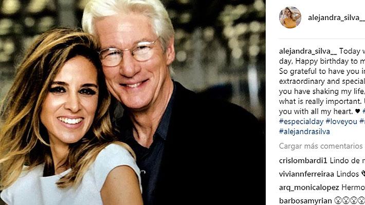 Richard Gere se casará con Alejandra Silva, su novia española 33 años menor