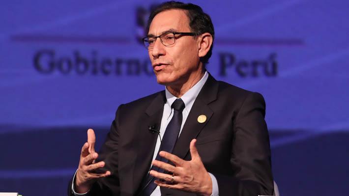 Vizcarra llamar a pasar de la retórica a las acciones concretas contra la corrupción y asegura que Perú recuperó la estabilidad política