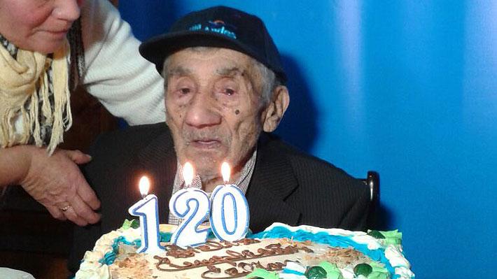 Fallece a los 121 años Celino Villanueva, considerado el hombre más longevo de Chile
