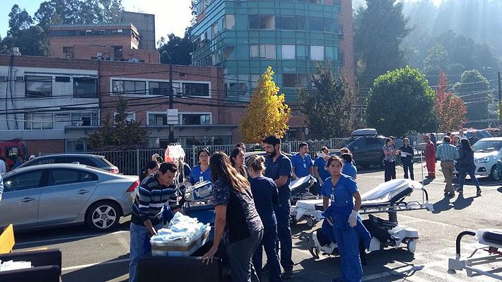 Se registra explosión en Sanatorio Alemán de Concepción