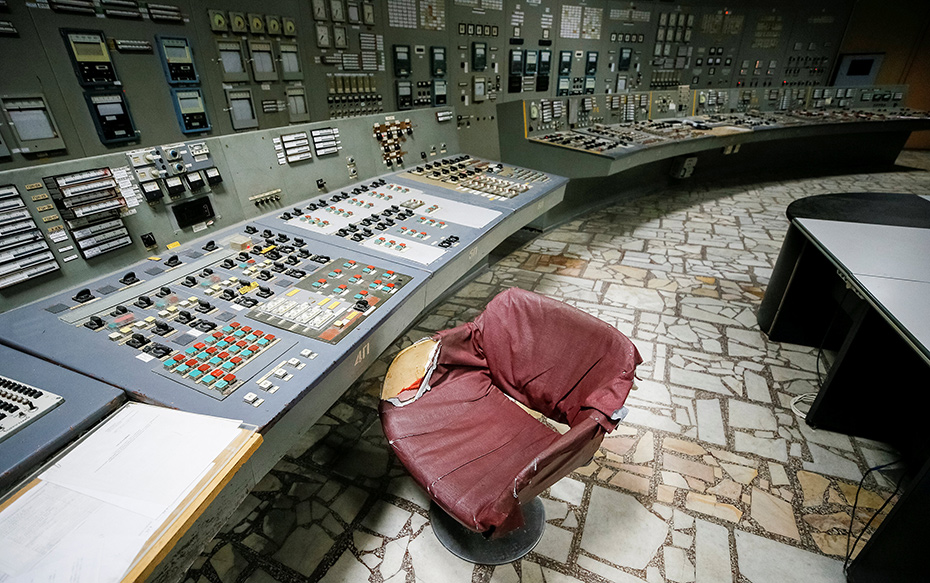 Galería: A 32 años de la tragedia, conoce el interior de la central nuclear de Chernobyl