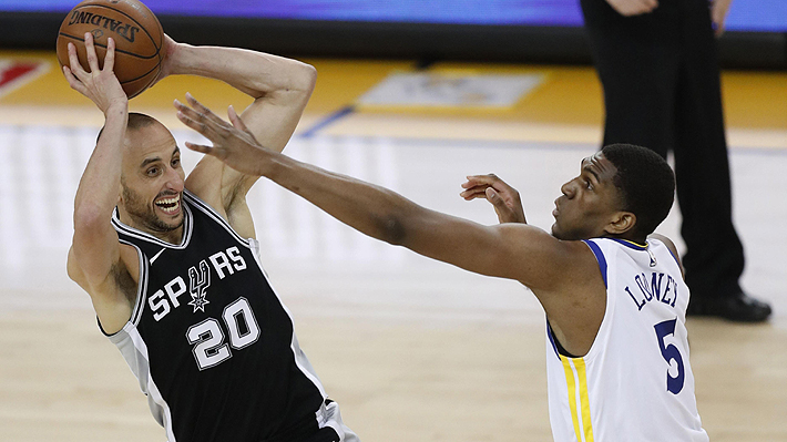 Playoffs NBA: Los Spurs fueron eliminados por los Warriors y ya se habla del retiro de Emanuel Ginobili