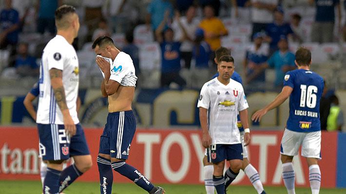 La U sufre otra humillación histórica en menos de una semana tras caer 7-0 ante Cruzeiro en Copa Libertadores