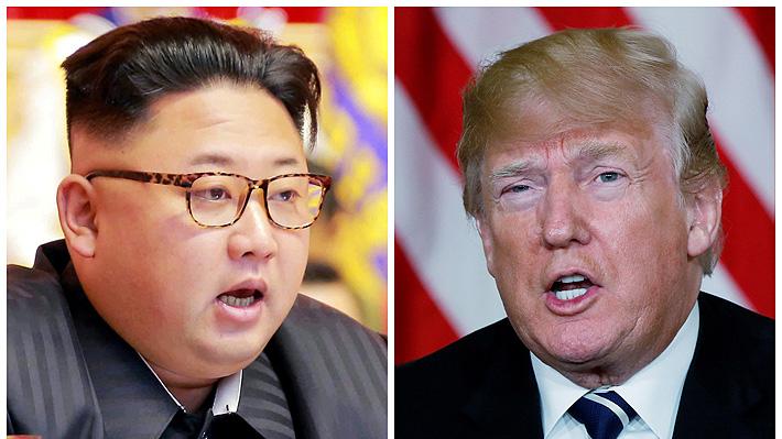 Trump sugiere reunirse con Kim en el mismo lugar donde se realizó la cumbre de las Coreas