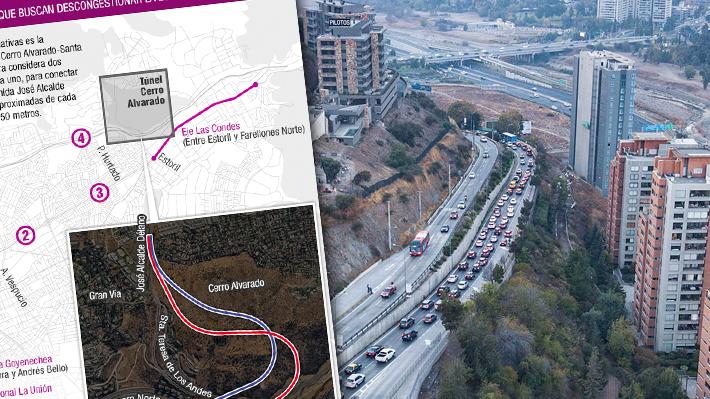 En qué consiste el plan conjunto de Vitacura, Lo Barnechea y Las Condes para combatir la congestión