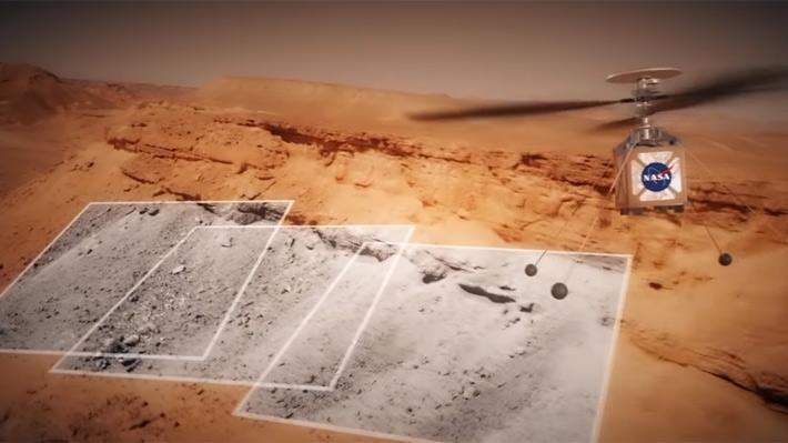 La NASA enviará un mini helicóptero a Marte junto a su próximo rover en 2020