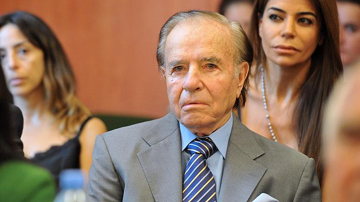 Justicia argentina confirma procesamiento de Carlos Menem por explosión de fábrica militar