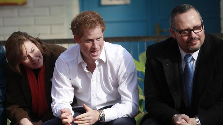 El paso del príncipe Harry por Chile: Recorrió Valparaíso y Sebastián Dávalos fue su anfitrión