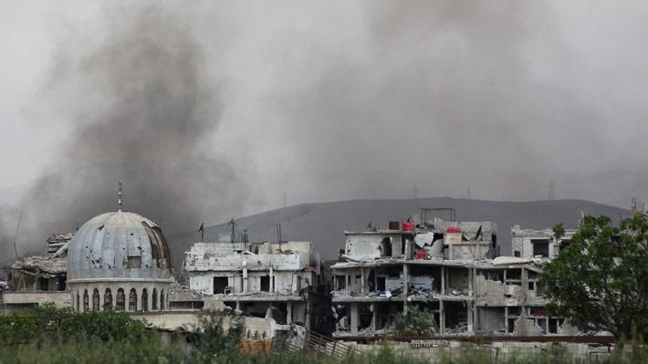 Inician las primeras evacuaciones en Siria del Estado Islámico
