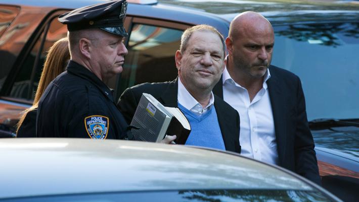 Harvey Weinstein se entrega a la policía de Nueva York tras casos de abuso sexual