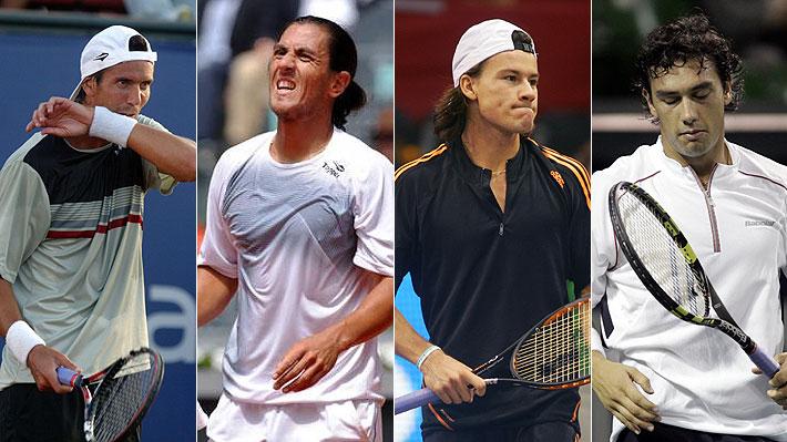 Tras suspensión a Kicker y Coria... Los otros escándalos de figuras históricas del tenis argentino