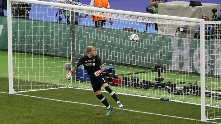 Los goles de la final de la Champions: Los increíbles yerros del portero  del Liverpool y la chilena de Bale | Emol.com