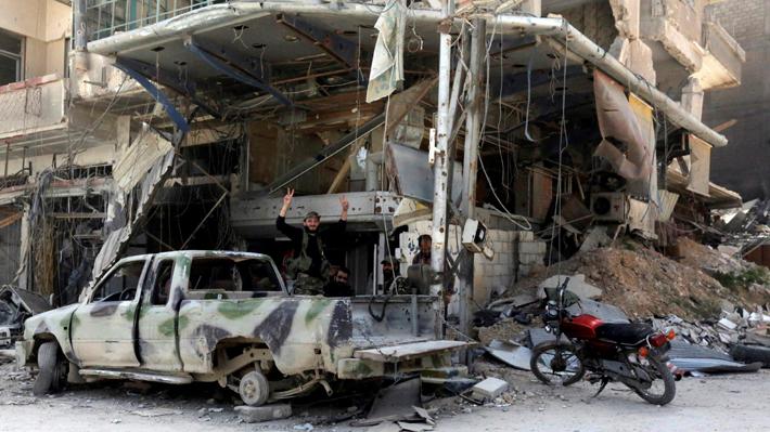 Cuatro militares rusos mueren en un ataque terrorista en Siria