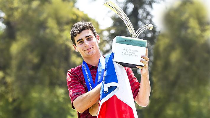 """Por qué con sólo cuatro torneos como profesional Niemann ya es considerado """"el mejor golfista chileno de la historia"""""""