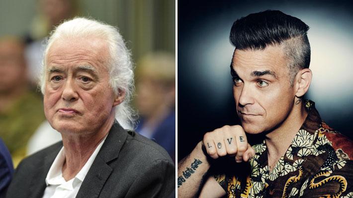 La pelea continúa: Jimmy Page se opone a que Robbie Williams construya una piscina subterránea en su casa