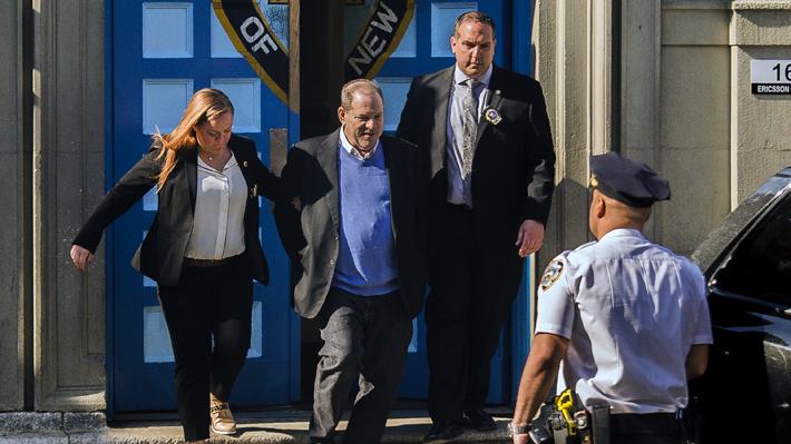 Harvey Weinstein es imputado formalmente por dos cargos de violación y uno de agresión sexual