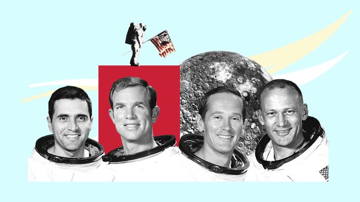 Fueron, volvieron y van quedando: ¿Quiénes son los cuatro astronautas con vida que pisaron la Luna?