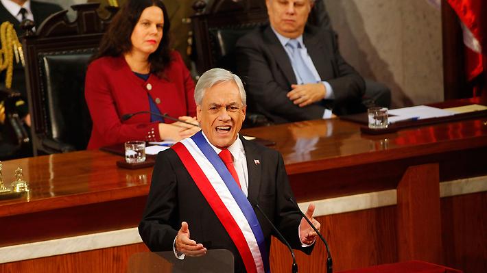 Cuenta Pública: Piñera descarta bajar impuestos a empresas y promete simplificación tributaria