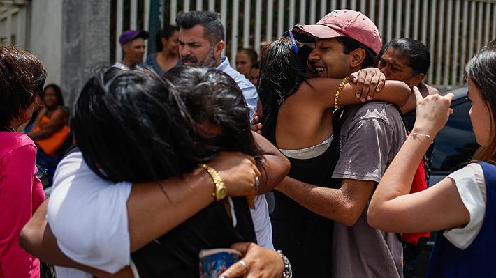 """Finalmente Gobierno de Venezuela cumple y libera a otros 40 """"presos políticos"""""""