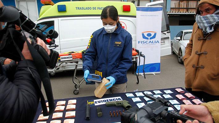 """""""Operación Rescate"""": PDI desbarata banda que transportaba cocaína en ambulancia"""
