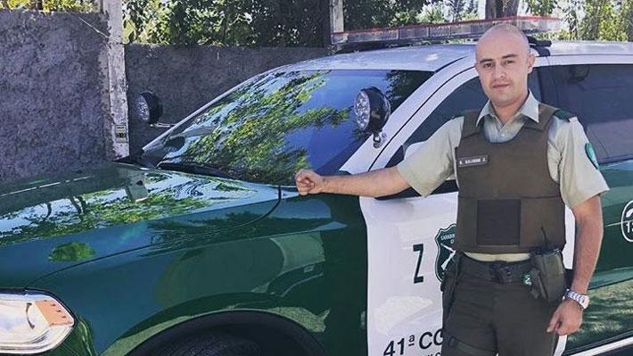Óscar Galindo, el carabinero oriundo de Cañete y padre de tres hijos asesinado en La Pintana
