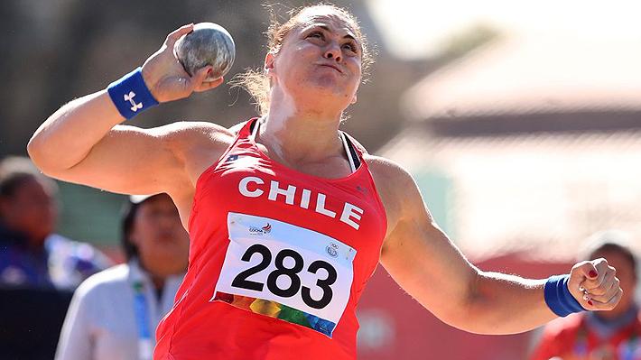 Natalia Duco gana el oro en el lanzamiento de la bala y marca nuevo récord en los Odesur