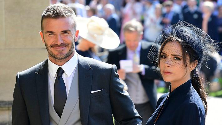 David y Victoria Beckham rematan las tenidas que usaron para la boda de Meghan y Harry