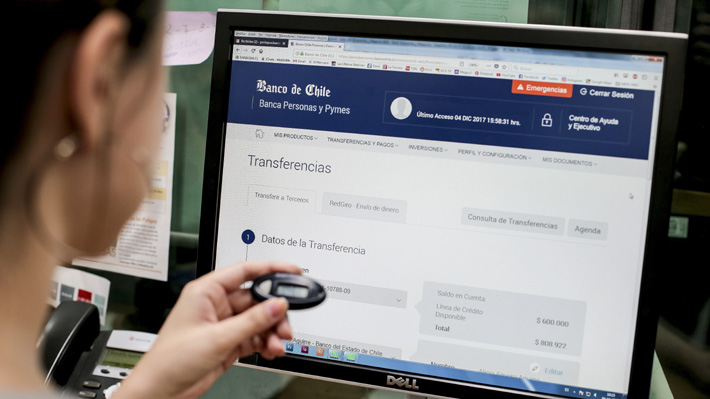 Banco de Chile confirma que ataque informático de mayo robó US$ 10 millones