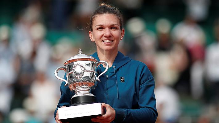 Simona Halep obtiene el primer Grand Slam de su carrera tras vencer a Sloane Stephens en la final de Roland Garros