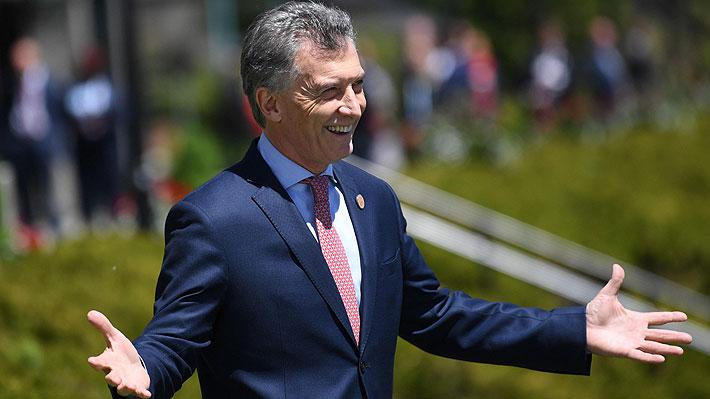 "Macri dice que ""histórico"" préstamo que le hizo el FMI muestra que ""creen"" en Argentina"