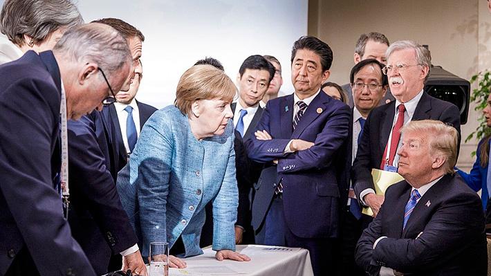 Trump contra el mundo: La imagen que evidencia la tensión que hubo en el G7