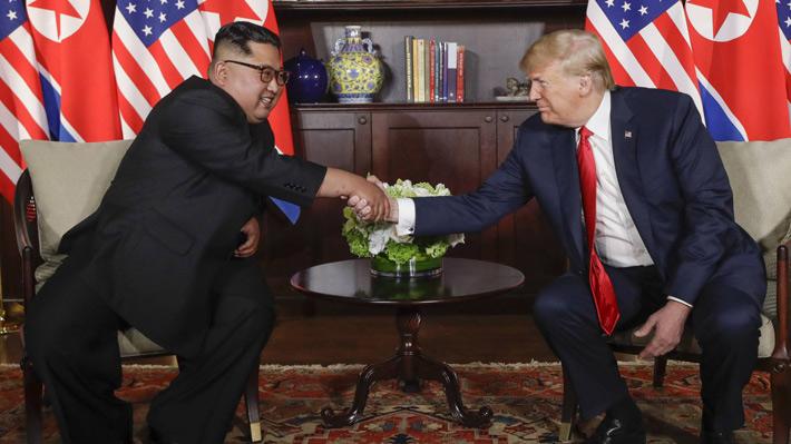Kim Jong-un y Donald Trump inician cumbre que capta la atención por sus implicancias en la seguridad mundial