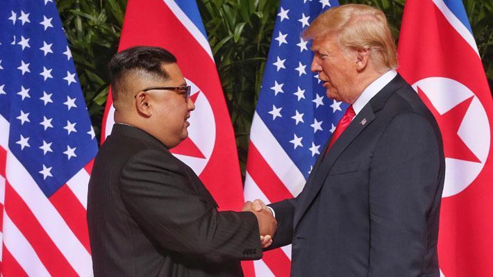 Galería: Las imágenes que han marcado el histórico encuentro entre Kim Jong-un y Donald Trump