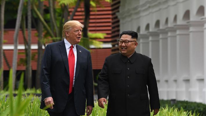 Trump anuncia que suspenderá las maniobras militares de EE.UU. en Corea