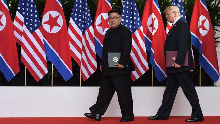 El acuerdo de Trump y Kim: Los compromisos que adquirieron en su histórica cumbre en Singapur