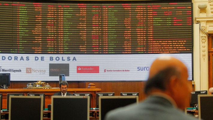 Bolsa de Santiago sube 0,41% impulsada por las acciones de CCU y CMPC