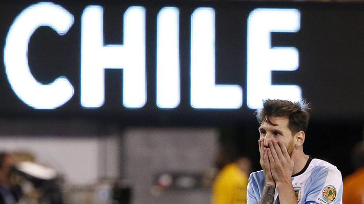 Messi recuerda el día en que renunció a su selección después de perder una segunda final ante Chile