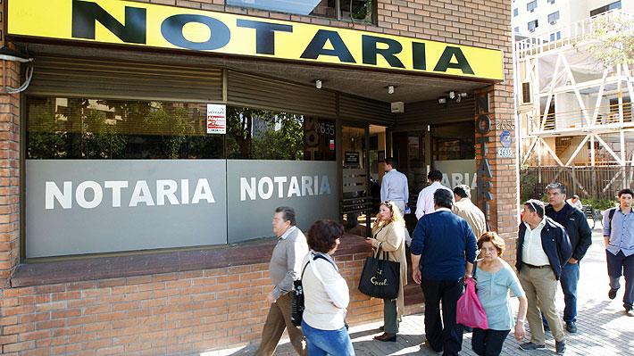 FNE elabora crítico informe sobre el mercado de los notarios: Acusa insuficiente competencia y pide reforma