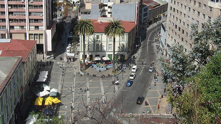 Comercio local y municipio intervendrán eje Bellavista, subida Ecuador y plaza Aníbal Pinto en Valparaíso