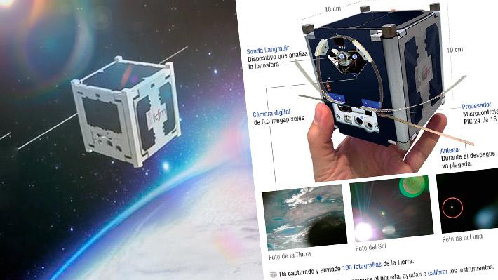 Ha dado 5.560 vueltas a la Tierra: El nanosatélite chileno Suchai cumple un año en el espacio