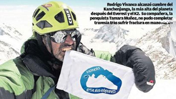 Polémica enloda el montañismo nacional: En tela de juicio el ascenso de un chileno a la tercera cumbre más alta del mundo