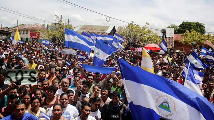 Gobierno de Nicaragua no cede en adelantar elecciones y sigue violencia en protestas