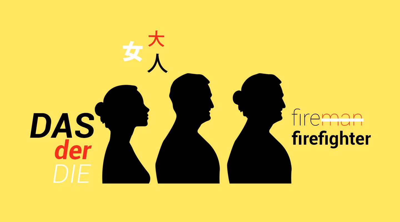 Debate sobre el lenguaje inclusivo: ¿Cómo se ha dado la discusión en inglés, alemán, coreano y chino?