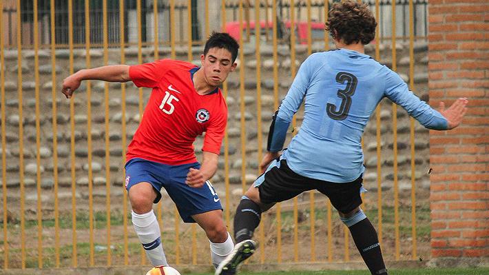 """La """"Roja"""" Sub 17 sufre goleada a manos de Uruguay en amistoso de preparación para el Sudamericano de Perú"""