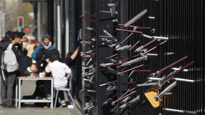 Radiografía a las tomas en Santiago: Más de 11 mil alumnos se han visto afectados este semestre