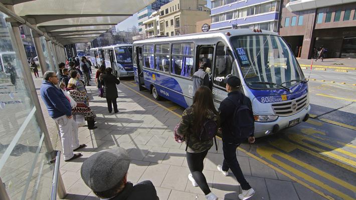 Subsidio al transporte público en regiones supera por primera vez el presupuesto proyectado para 2018