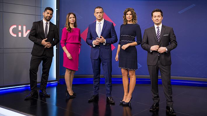 Chilevisión se impone en el rating con nuevo horario de su noticiero central